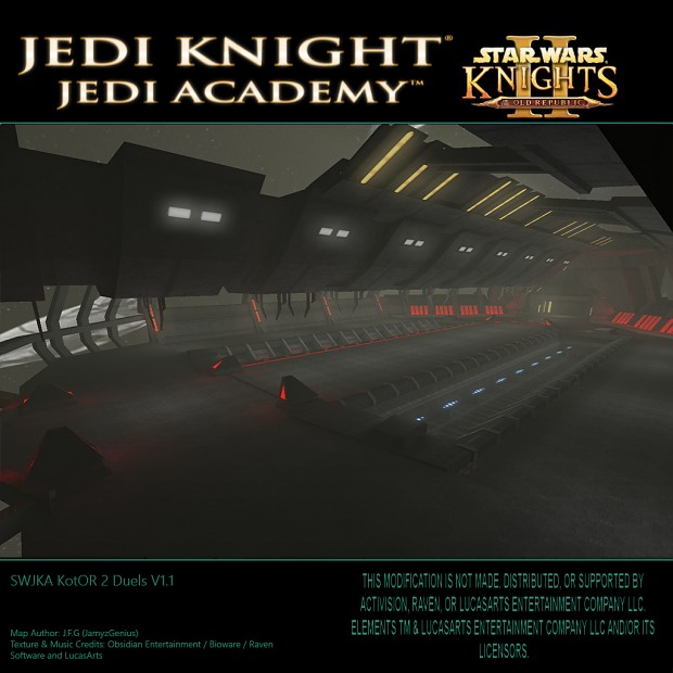 Star Wars Jedi Knight: Jedi Academy - Kotor 2 Duels V1.1 The Ravager