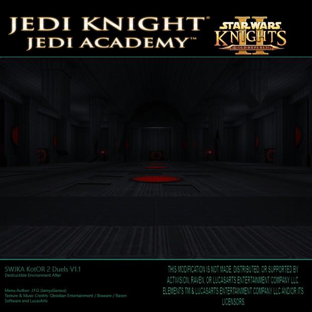 Star Wars Jedi Knight: Jedi Academy - Kotor 2 Duels Destructible Environments