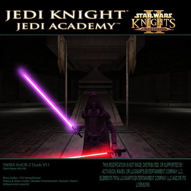 SW Jedi Knight Jedi Academy - KotOR 2 Duels V1.1 Darth Revan Hilt JKA