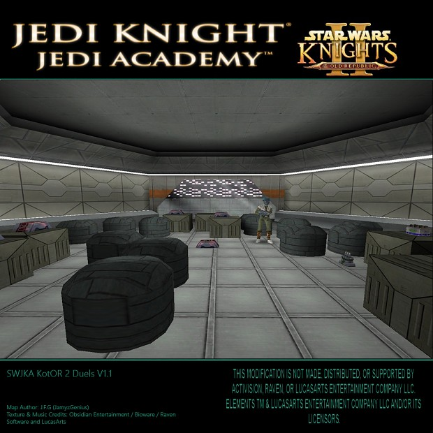 Jedi Academy - Knights of the Old Republic 2 Duels mod - Mod DB