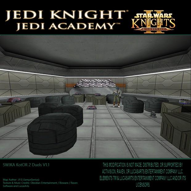 Star Wars Jedi Knight: Jedi Academy - Kotor 2 Duels V1.1 Citadel Station