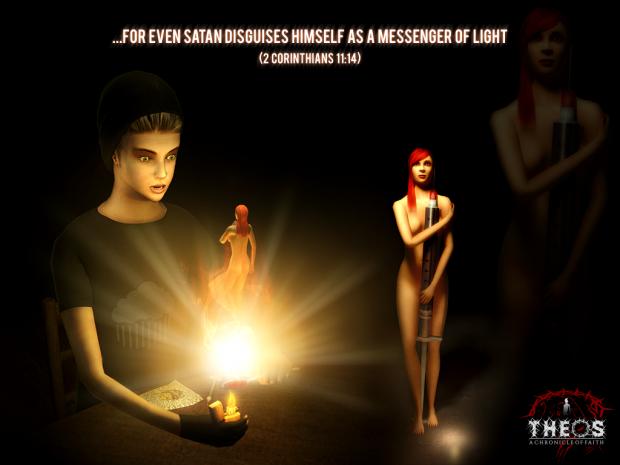 Scene from THEOS: A Chronicle of Faith