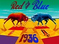 Red and Blue: 1936