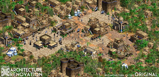 Middle Eastern Tileset Original in Game