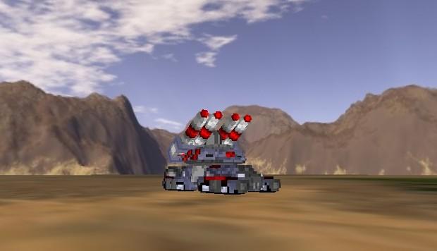 Federal Tank prototype