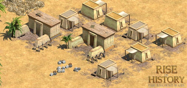 Rise Of History: The Ancient Wars mod for Age of Empires II