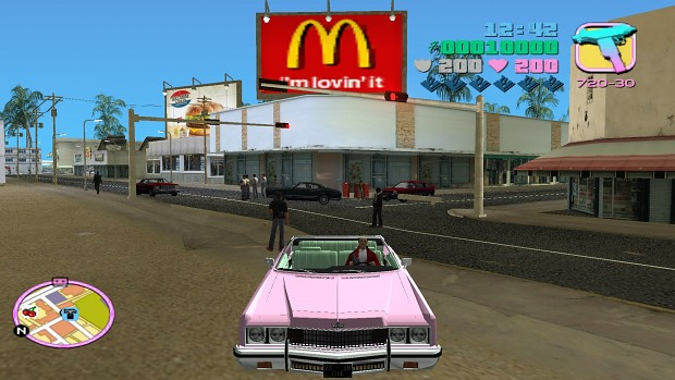 mcdonalds reclame image flodder in gta mod for grand theft auto vice city mod db. Black Bedroom Furniture Sets. Home Design Ideas