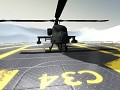 Apache helicopter test