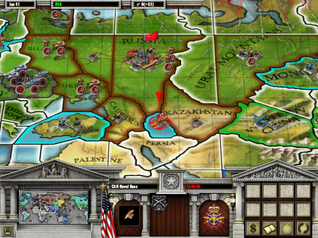 Axis & Allies RTS CAN Naval Base