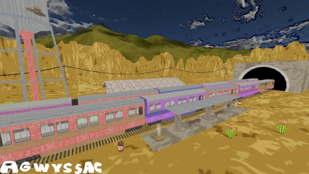 Train Map Concept