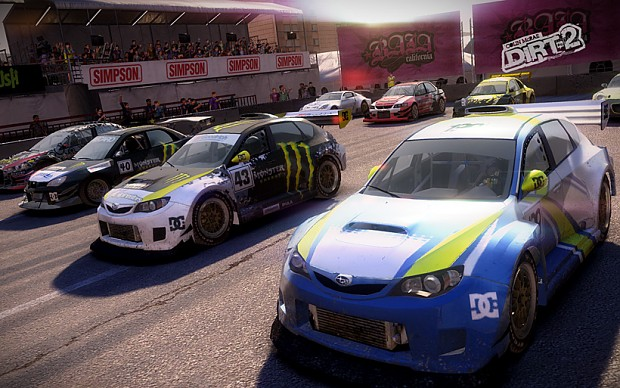 DiRT 2 Racing Mod