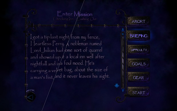 Improved Papyrus font
