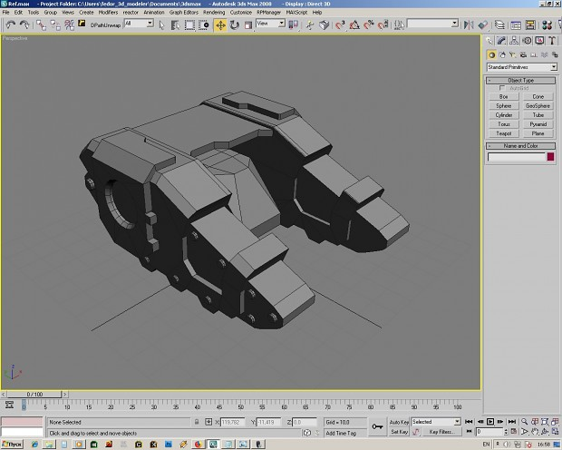 modeling chaos seciran battle tank end more weapon variant