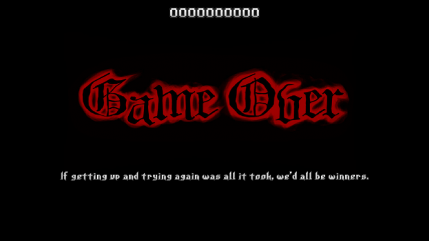 v0.85 - Game Over