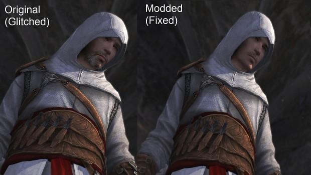 Altair face glitch fixed in original memories