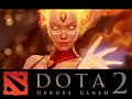 Dota 2: Heroes Clash (Warcraft III: Frozen Throne)