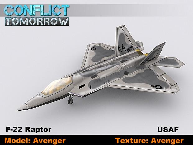 F-22 Raptor USAF
