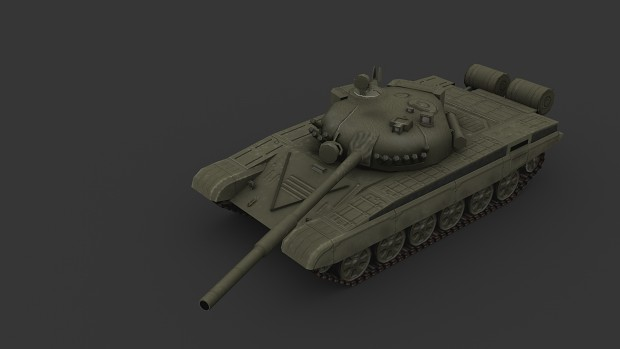 T-72, the last model I made