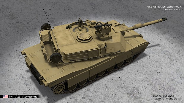 M1A2 Abrams Tank (Little Improvement)