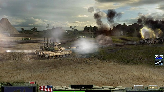 m1a2 abrams usa army & new effects & new skay