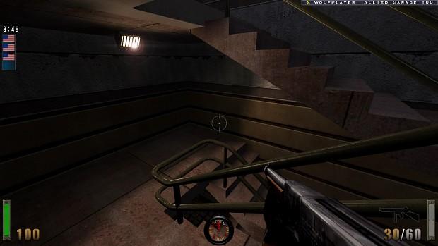 Pre-release Thompson gun for SP/MP.