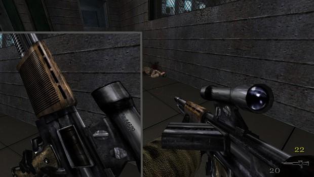 New textures - Fg42 assault rifle