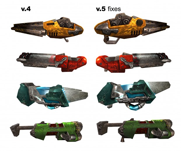 HD Weapon Re-Texture v5 fix samples