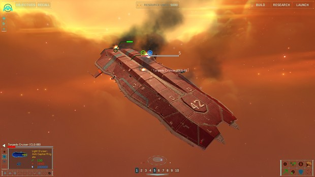 CLG-88 Torpedo Cruiser conversion