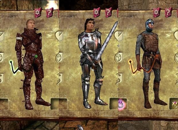 New Armor Textures.