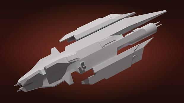 Vaygr Stealth Bomber model 1