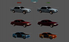Cars (before & after)