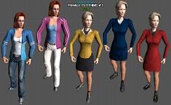 Female clothing 1 (modded)