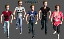 Female clothing 2 (modded)