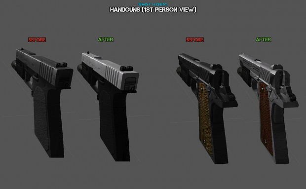 Handguns (1st per view)