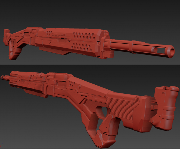 current high poly for the MG