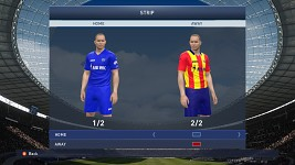 Levski Sofia Home/Away kits