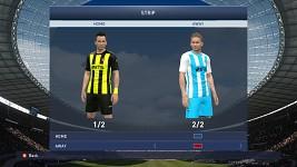 Botev Plovdiv Home/Away kits