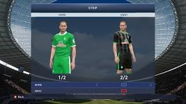 Werder Bremen Home/Away kits