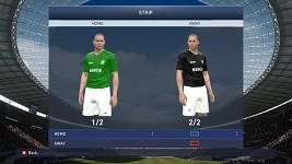 Beroe Stara Zagora Home/Away kits