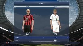 Eintracht Frankfurt Home/Away kits
