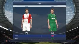 Augsburg Home/Away kits