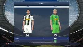 Borussia M'Gladbach Home/Away kits