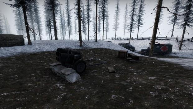 Bastogne - Nebelwerfer