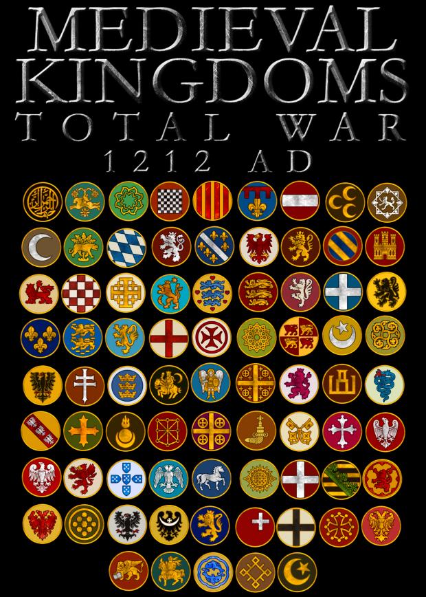 Medieval Kingdoms Total War Faction Icons