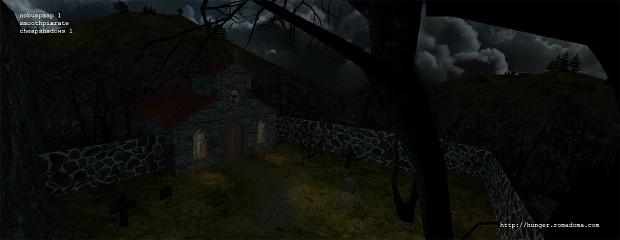 Draft screen of 'Church' area
