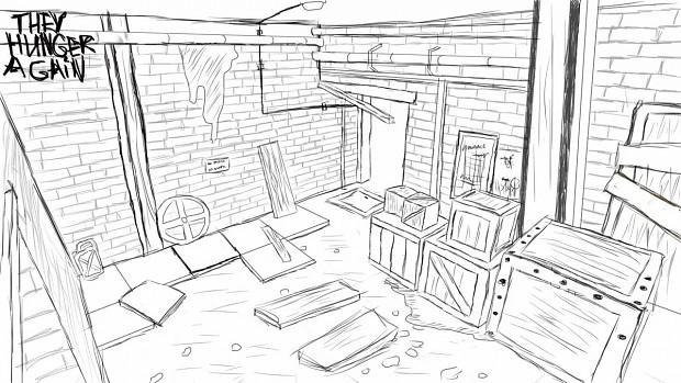 Level design sketch 1