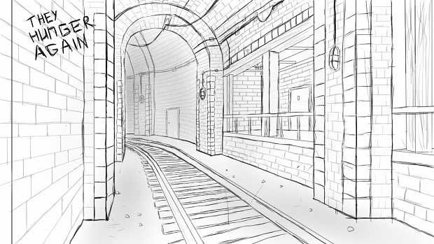 Level design sketch 2