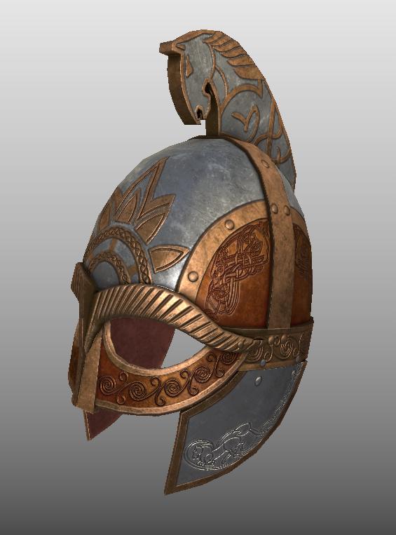 Meduseld Guard Captain's Helmet