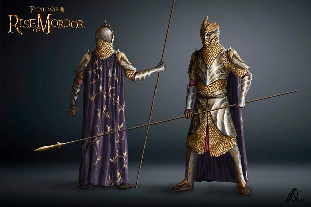 Mallorn Defenders' concept