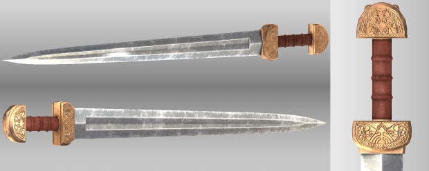 Sword for the Guards of Meduseld and Knights of the House of Eorl